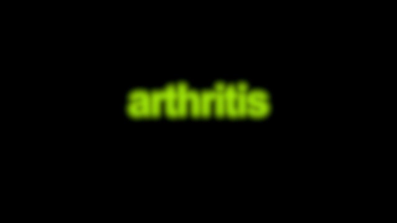 Arthritis Blurred