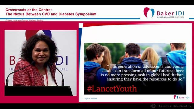 Adolescent Health a global priority - for local action Prof Sandra Eades