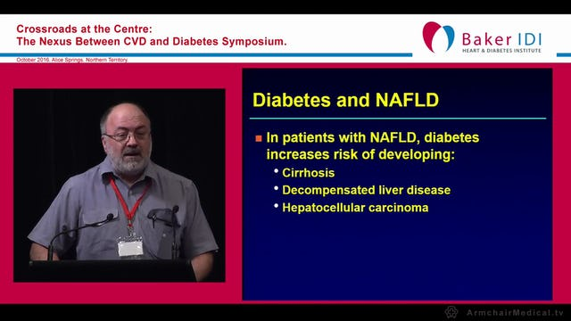 The liver, diabetes and cardiovascular disease Assoc Prof Graeme Macdonald