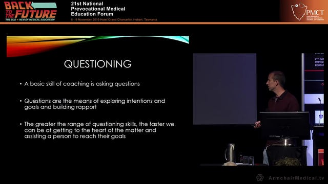 Goal setting, improving performance and developing coaching skills for mentoring Dr Julian Willcocks – Central Coast LHD