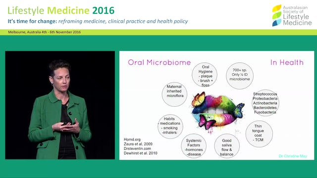 Oral-Systemic Medicine the importance of the oral cavity in Lifestyle Medicine Dr Christine May