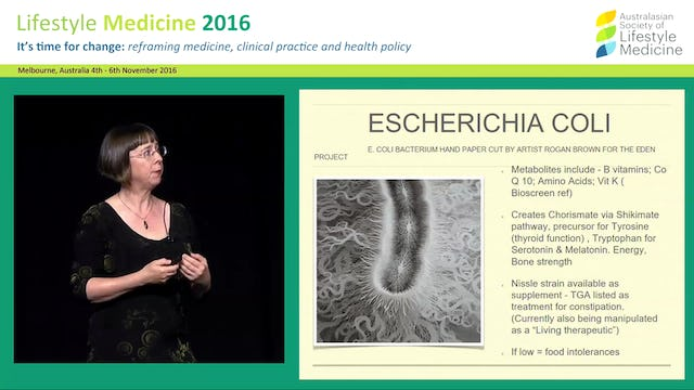 Shifting the microbiome in mental healthcase studies Dr Sally Price