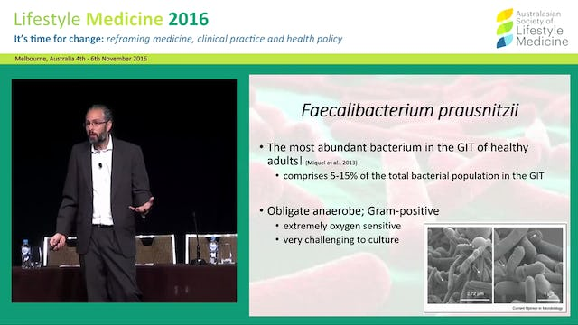 The role of the GIT microbiota in metabolic disease Dr Jason Hawrelak