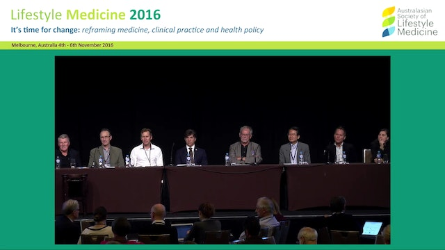 Lifestyle Medicine in the world Panel...