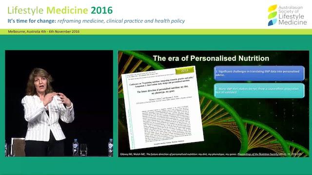 Nutrigenomics: reshaping the lifestyle medicine landscape Dr Christine Houghton