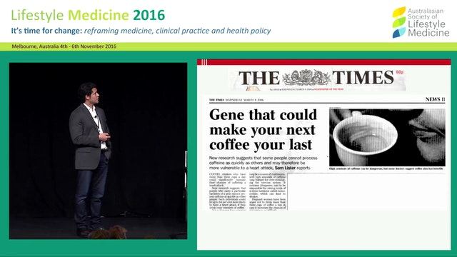 Nutrigenomics: Do our genes determine what we should eat? Prof Ahmed El-Sohemy