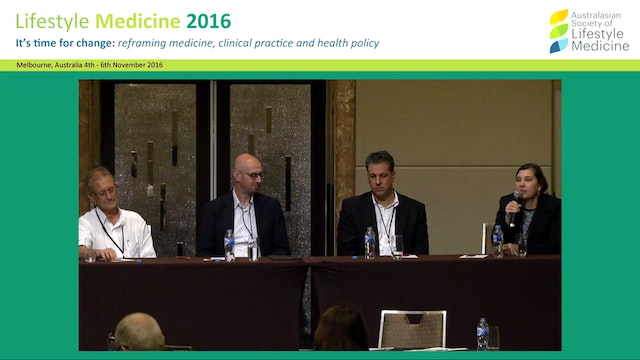 Lifestyle intervention with focus on  psychosocial factors.Panel Discussion 2