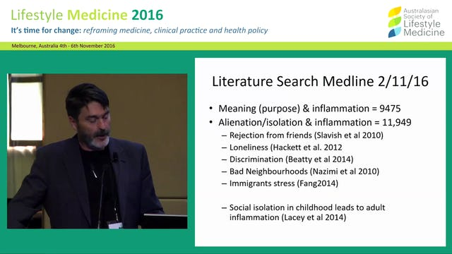 Meaninglessness, alienation and loss of  culture and identity: Now measurable  determinants of chronic disease  A/Prof  John Stevens