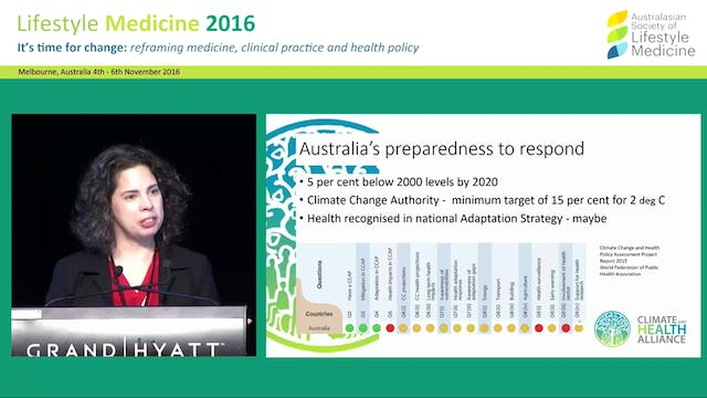 The Climate and Health Alliance (CAHA) for population and climate health Kim Daire