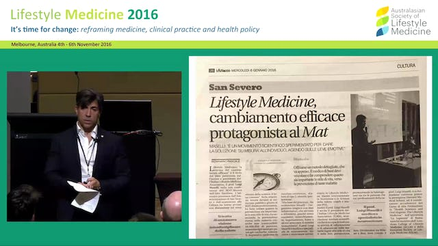 Introducing Lifestyle Medicine as a new  discipline in Italy Dr Luigi Maselli