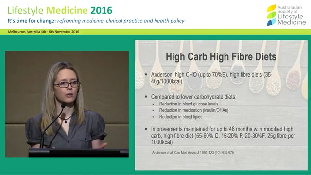 Preventing and managing diabetes with a  plant-based diet Dr Kate Marsh