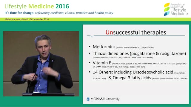 """Fatty liver: The next """"big thing"""" (and  associated metabolic syndrome) Dr Alex Hodge"""