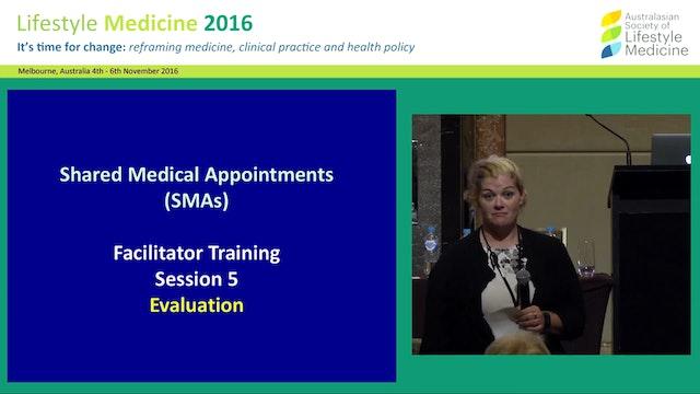 SMA Facilitator Training - Evaluation