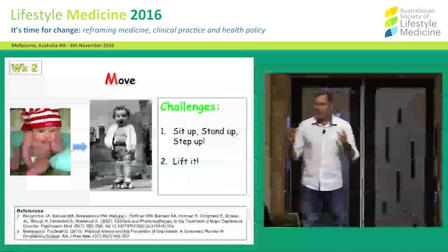 Lifestyle Medicine for emotional wellbeing the Live More! Project Dr Darren Morton