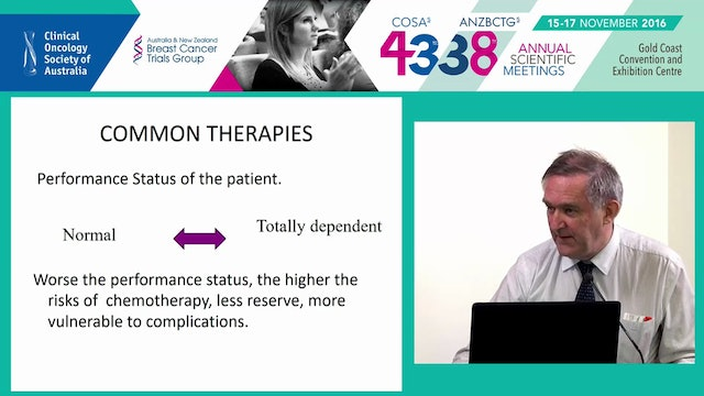 The interface between Oncology and Palliative Care Dr Frank Brennan