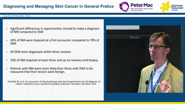 Melanoma diagnosis, investigation and management Dr John Spillane