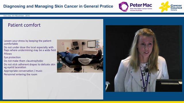 Skin cancer management BCC SCC KA Bowen's disease and more Dr Emma Hiscutt Dr Angela Webb Dr George Miller