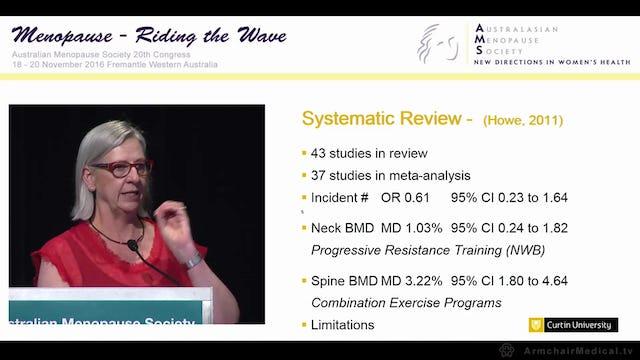 Exercise for osteoporosis - unmasking pelvic floor dysfunction Assoc Prof Kathy Briffa