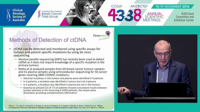 Circulating cellfree tumour DNA in c...