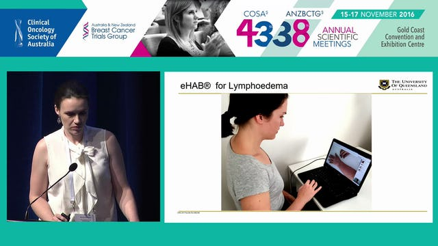 Facilitating lymphoedema detection and management through telehealth Anna Finnane