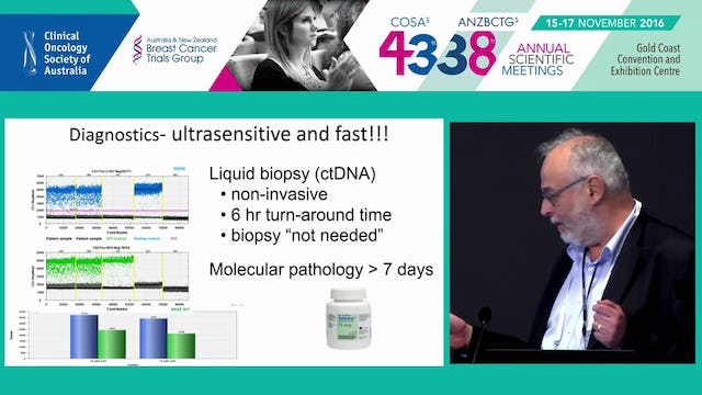 Liquid biopsies from solid tumours Alexander Dobrovic