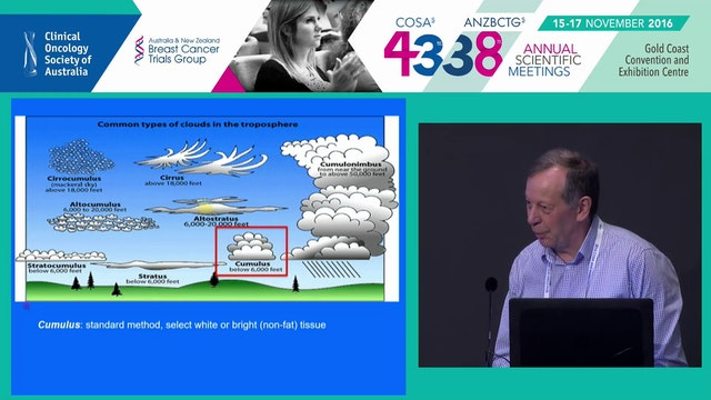 Using mammographic images to predict risk and masking of breast cancer John Hopper
