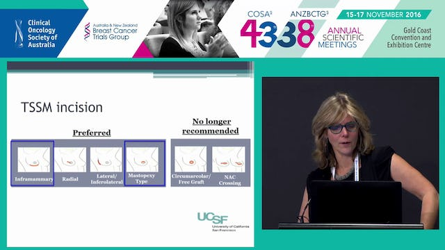 When to do what  optimizing decisions and outcomes from breast surgery Laura Esserman
