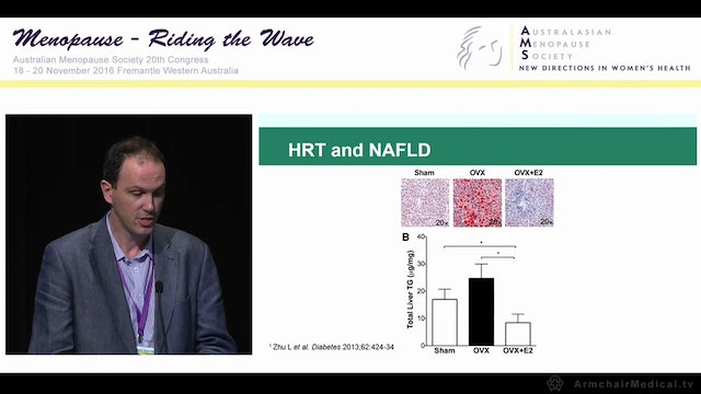 NAFLD & menopause what's the story Dr David Iser
