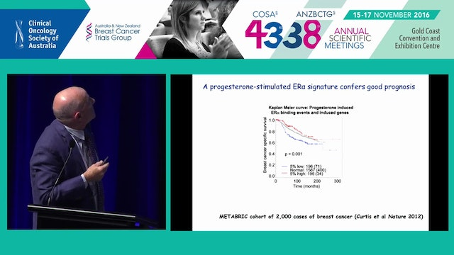 Targeting progesterone and androgen receptors to enhance ERtarget therapies in breast cancer Wayne Tilley