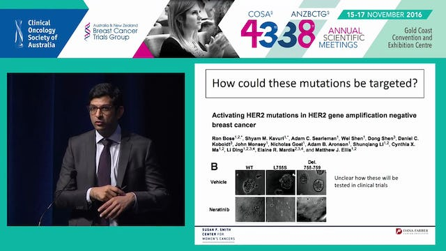 Targeting therapeutic resistance in HER2­positive breast cancer Shom Goel