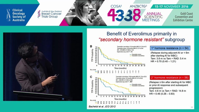 Translating Molecular Insights in Estrogen Receptor signalling into Clinical Trials in Breast Cancer Elgene Lim