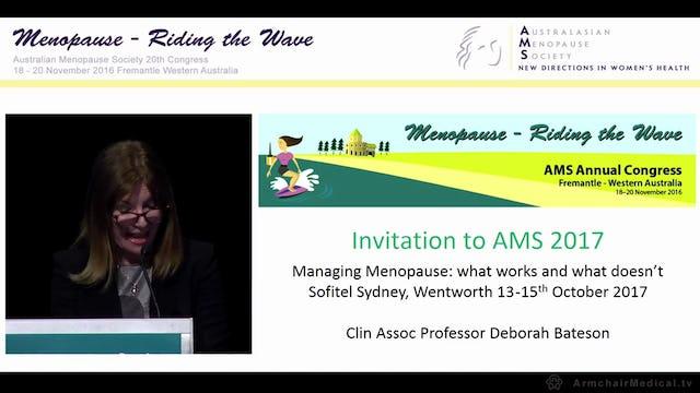 Invitation to AMS 2017 Deborah Bateson