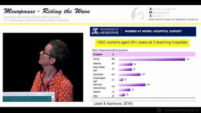 Menopause and work Martha Hickey