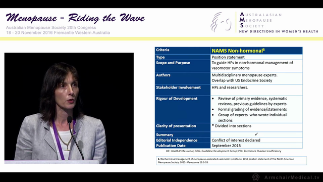 What's new in menopause guidelines Clin Assoc Prof Amanda Vincent