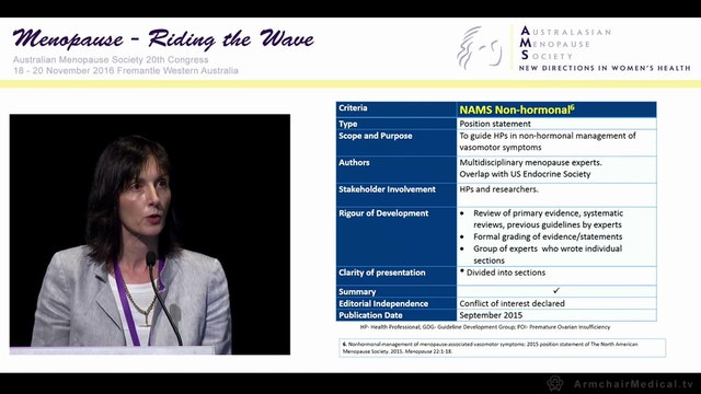What's new in menopause guidelines Cl...