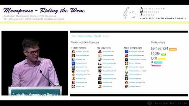 Social media –  an update and the interface with medicine Hugh Stephens