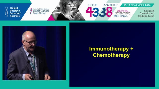 Immunotherapy ­ The future Ken O'Byrne