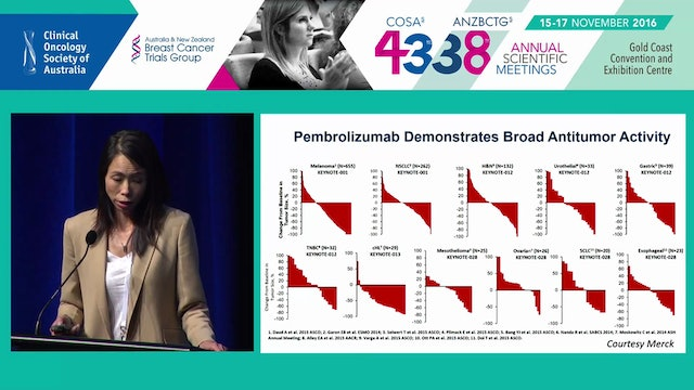 Immunotherapy directions in breast cancer Sherene Loi