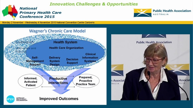 Primary Health Networks & Integrated Care it's time to lead the way Rosemary Calder