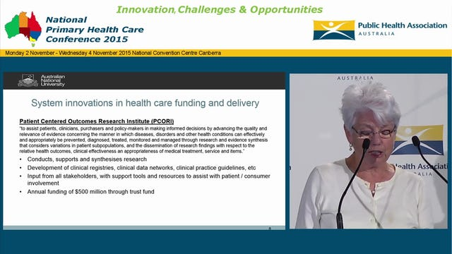 Reforming and revitalising primary care What can Australia learn from Obamacare Lesley Russell