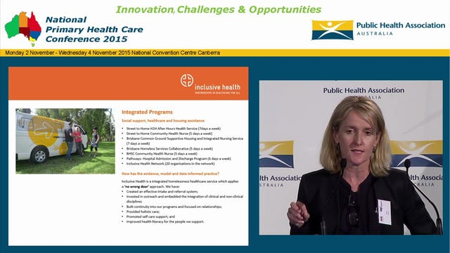 Partnerships, outreach, integrated care, innovation and healthcare cost savings - what it takes Kim Rayner