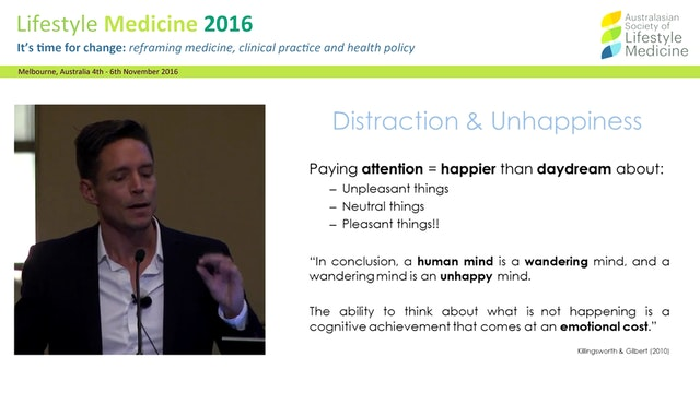 Mindfulness and physical health Dr Richard Chambers