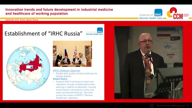 Establishment of IRHC Russia Alan Kennedy Bolam