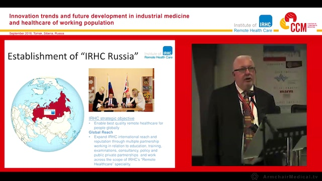 Establishment of IRHC Russia Alan Ken...