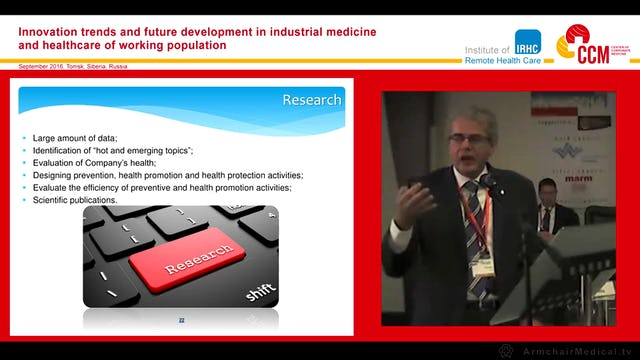 Implementing telemedicine in Oil and Gas Industry Prof Frano Mika