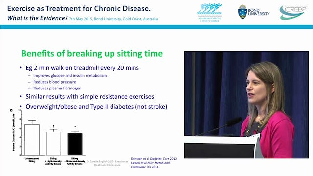 Exercise as Part of Stroke Rehabilitation Dr Coralie English