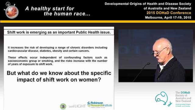 Impact of maternal shift-work on offs...