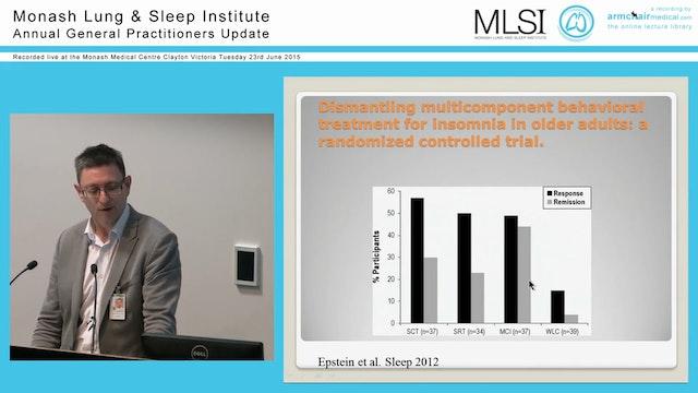 Insomnia Assoc Prof Darren Mansfield