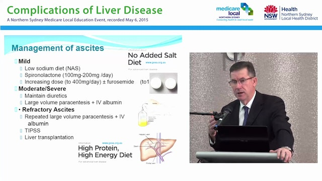 Management of Advanced Liver Disease ...