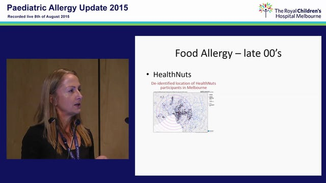 Food Allergy - The Past, The Present and the Future....Joanne Smart